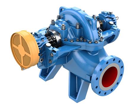 3610 Axially Split Between Bearing Pump Goulds Pumps