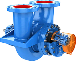 Goulds Pumps 3620i API 610 (BB2) Single-Stage, Between-Bearing, Radially Split Pumps