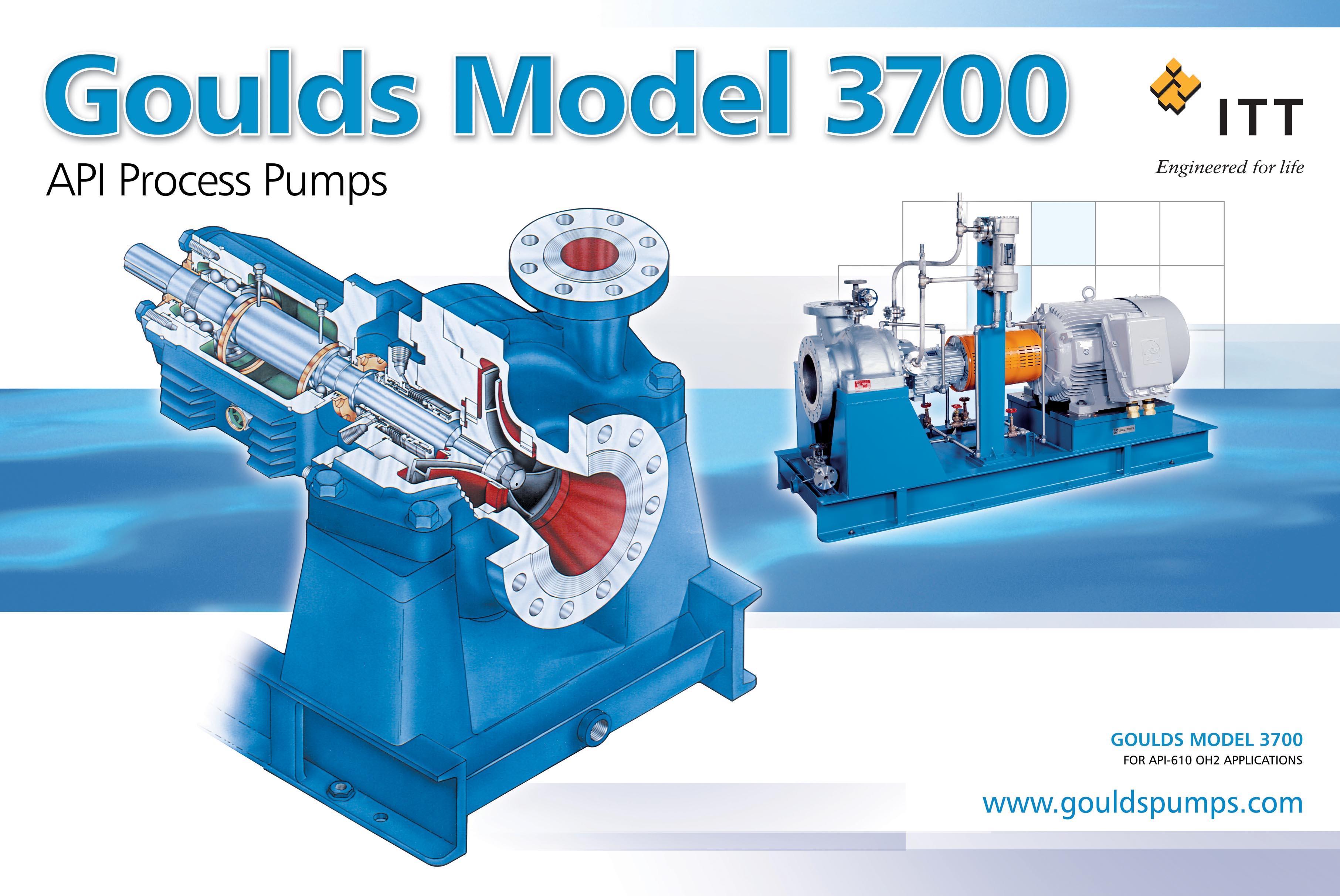 3700 single stage  overhung process pump goulds pumps daikin heat pump installation manual goodman heat pump installation manual